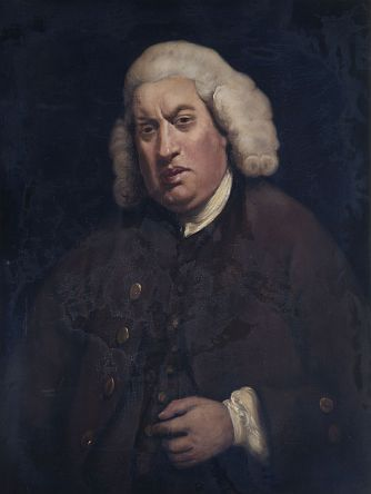 Portrait of Samuel Johnson after Sir Joshua Reynolds