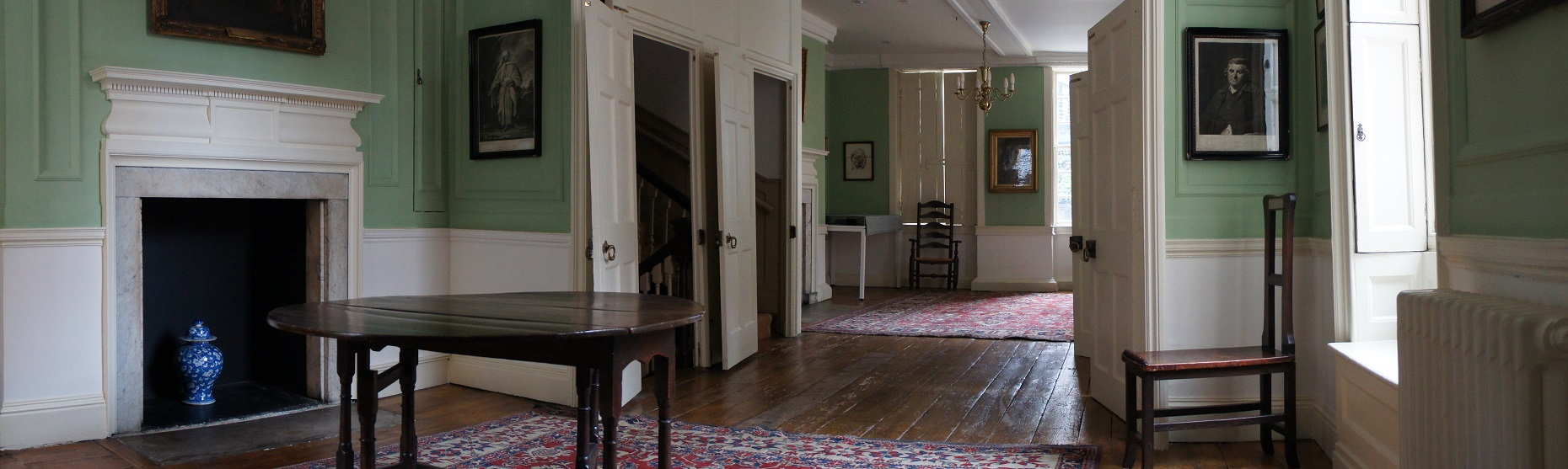 Dr Johnson's House home page
